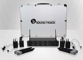 Sistema Uhf De 8 Micrófonos Soundtrack