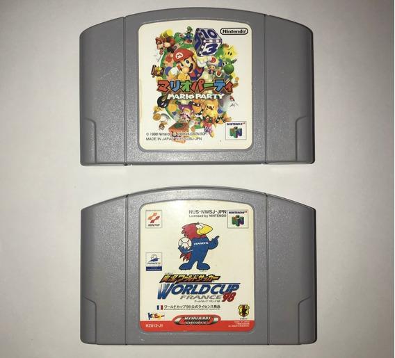 Mario Party World Cup Nintendo 64 Original Japonês