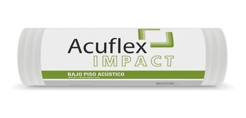 Imagen 1 de 7 de Aislante Acústico Acuflex Impact Amortiguante Para Pisos 20m