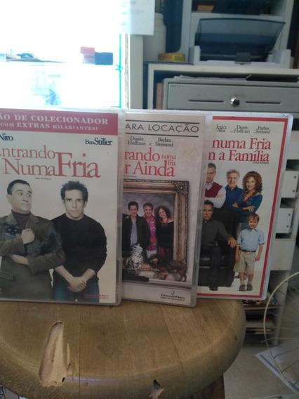 Entrando Numa Fria 1,2 E 3 Dvd Original Usado