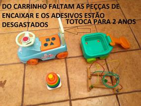 Lote Brinquedo Educativo Pedagógico Bebês Ler Anúncio Usado