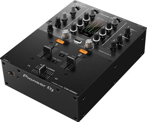 Mixer Pioneer Dj Djm-250mk2 De 2 Canais