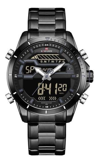 Relógios Masculinos Naviforce Esportivo Militar Original