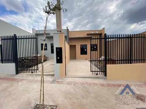 Imagem 1 de 13 de Casa À Venda, 62 M² Por R$ 195.000,00 - Jardim Tropical - Londrina/pr - Ca1439