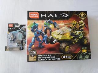 Warthog Run Halo 10 Aniversario Mega Construx Y Ripa Moramee
