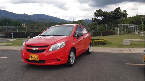 Chevrolet Sail Rojo Lisboa Espectacular !!