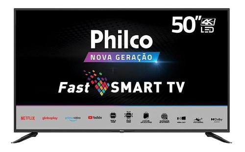Imagem 1 de 6 de Smart Tv Philco Ptv50n10n5e, 50, 4k, Uhd, Led, Hdr10, Hdmi/u