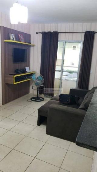Apartamento Com 3 Dormitórios À Venda, 62 M² Por R$ 210.000,00 - Carumbé - Cuiabá/mt - Ap1420