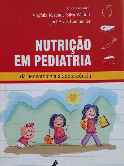 Livro Nutrição Pediatria - Está Novo - Frete Grátis Infantil