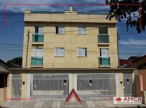 Cobertura Com 2 Dormitórios À Venda, 84 M² Por R$ 320.000 - Santo André/sp - Co0014