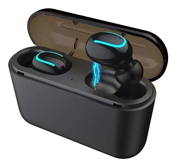 Fone de ouvido sem fio HBQ Q32 black