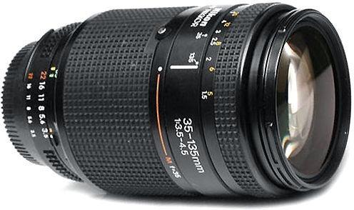 Lente Nikon Af Nikkor 35-135mm F:3.5-4.5, Revisada