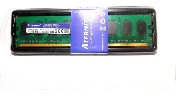 Memoria Ram 4gb Ddr2 800 Mhz P/ Placas Mãe Amd