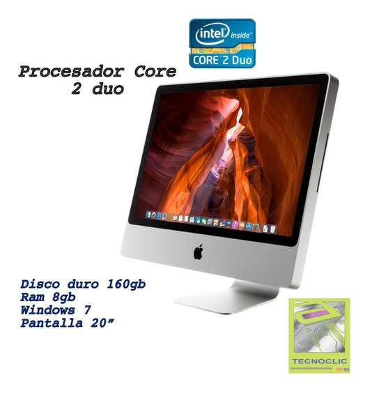 iMac Core2duo 9.1 Aluminio 8gb Ram