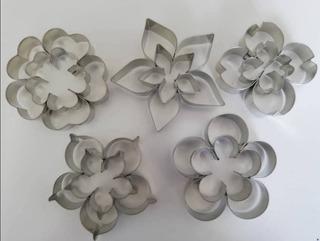 Cortador De Galletas Flores Surtidas, Reposteria Fondant