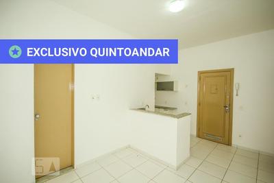 Apartamento No 7º Andar Com 1 Dormitório - Id: 892870933 - 170933
