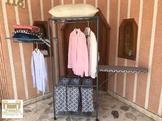 Carrito Lavanderia Tipo Closet Con Burro De Planchar