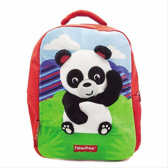 Mochila Jardin Peluche Fisher Price Original Animales 31 X23