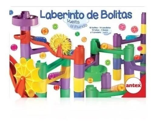 Laberinto De Bolitas Vuelta Al Mundo Juego Didáctico Antex