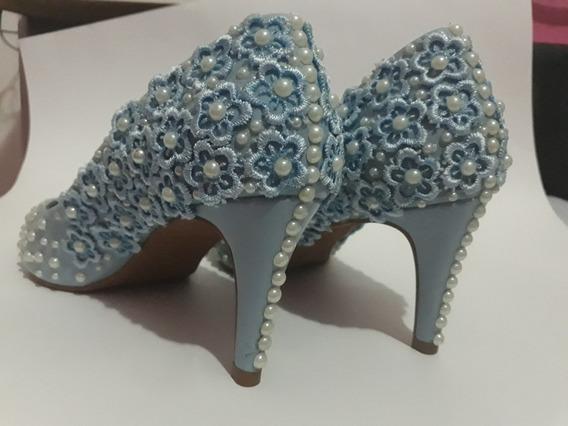 Sapato Azul Serenity Barato