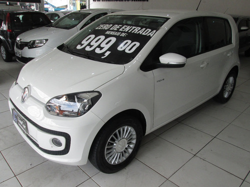 Vw Up Move Tsi Ano 2017 Unico Dono Zero De Entrada