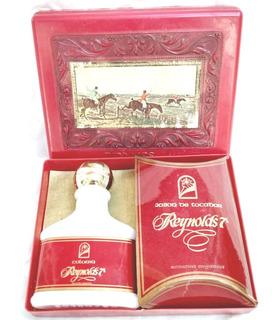 Antigua Caja Reynolds 7° Perfume C/ Contenido -vintage Retro