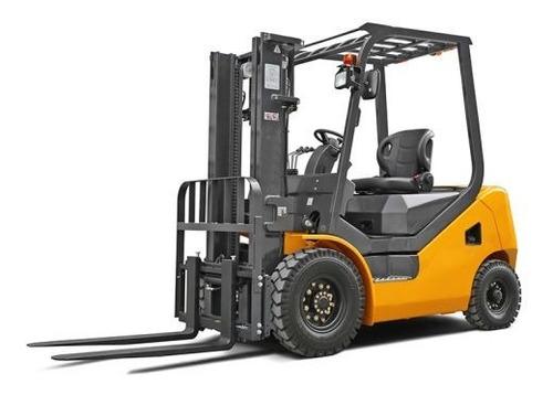 Autoelevador Diesel Clark Hidraulic 3.5tn 4.5m Torre 3tramos