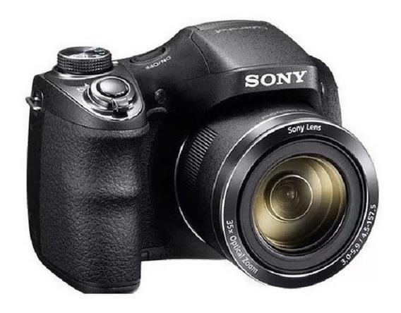 Câmera Sony Cyber Shot Dsc H300 Zoom 35x Tela 3.0