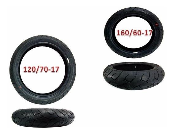 Pneu Pirelli Diablo 160/60-17 + 120/70-17 Cb500x (par)