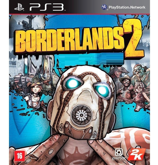 Borderlands 2 Ps3 Psn Jogo Borderlands 2 Play 3 Playstation