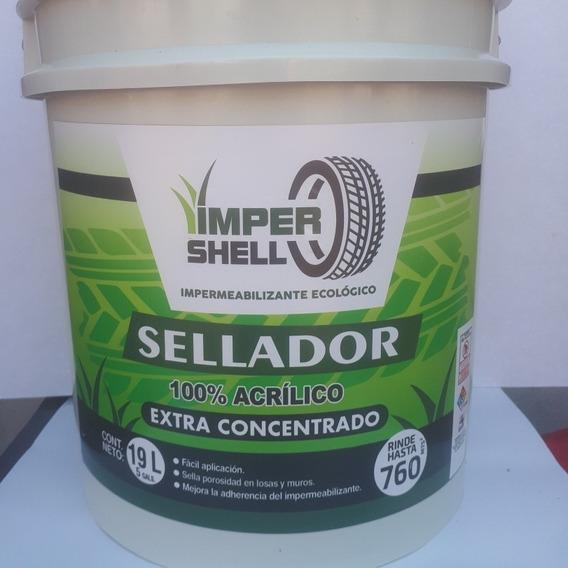 Impermeabilizante Impershell Reforzado Con Polvo De Llanta