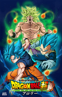 Dragon Ball Super - Broly (2018) Fullhd 1080p Lat