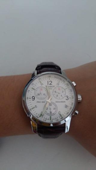 Relógio Tissot Masculino Semi-novo Caixa Em Aço