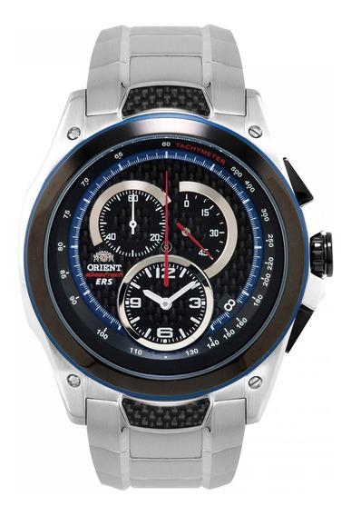 Relógio Orient Kt00001b Speed Tech Vidro Safira Frete Grátis