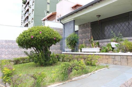 Casa Com 2 Dormitórios À Venda Por R$ 650.000,00 - Botafogo - Campinas/sp - Ca0490