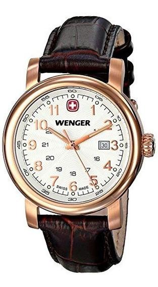 Relojes De Pulsera,reloj Wenger 011021108 Negro