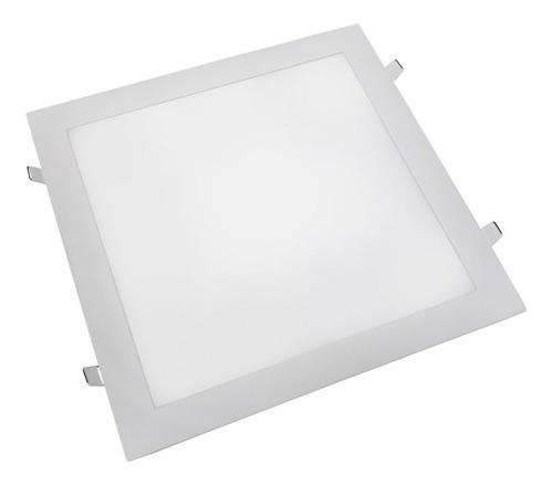 Luminária Painel Plafon Led Embutir 24w 25w Quarto Sala