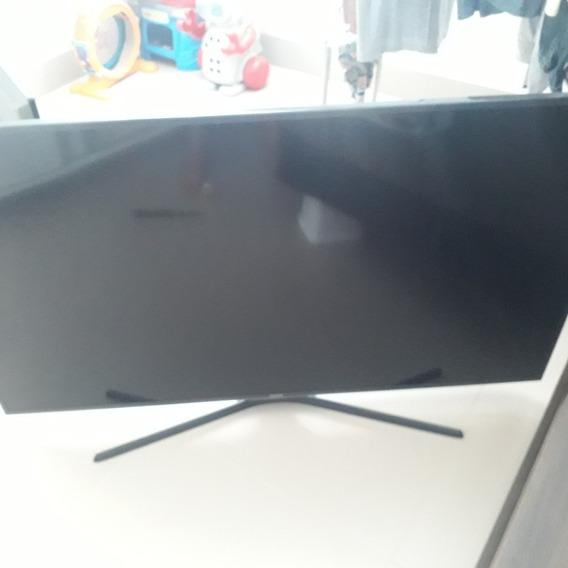 Smart Tv 55 Samsung 4k Com Tela Quebrada Código Un55ku6000