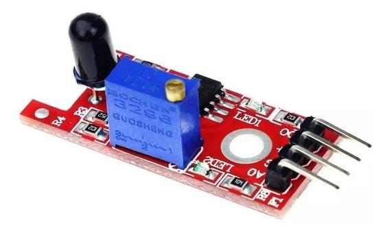 Sensor Detector Fogo Chama Arduino Automação Ky-026