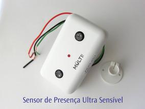 Sensor De Presença Ultra Sensível / Ultra Sônico