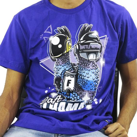 Camiseta Estilo Geek Games Daft Llama