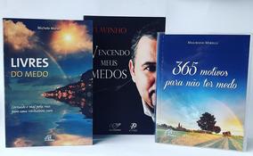Kit Livros Catolicos Medo: Cura / Como Vencer / Controlar