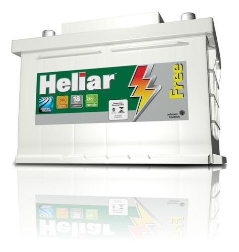 Bateria Heliar 12v - 55 F50gd Fiat Siena C/ Aire