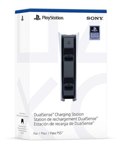 Imagem 1 de 6 de Carregador Charging Station Dualsense Playstation 5 - Ps5