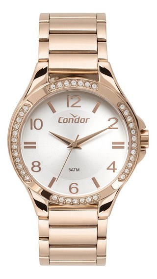 Relógio Condor Feminino Rosê Co2035mtl/4k