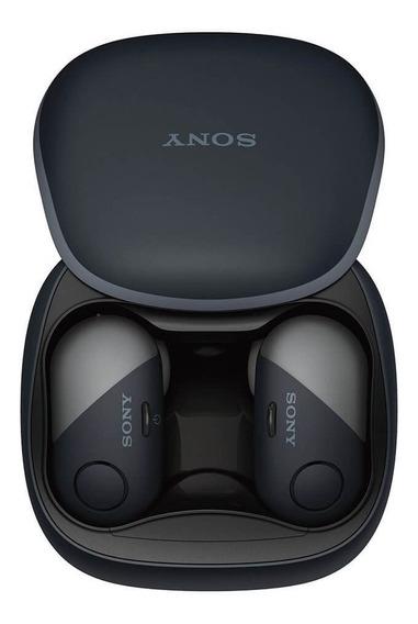 Fone De Ouvido Sony Wireless Wfsp700n/b Extra Bass Bluetooth