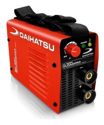 Soldadora Daihatsu S21-160m Mini Inverter Portatil - Insei