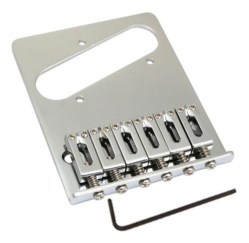 Imagem 1 de 6 de Ponte Standard Para Guitarra Telecaster - Cromada