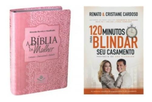 Kit A Bíblia De Est Da Mulher + 120 Minutos Para Blindar Cas