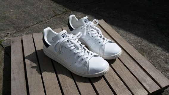 Tênis adidas Stan Smith Branco/azul 42